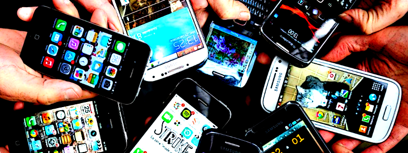 mobile format of online gambling presented